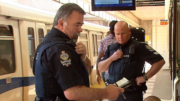 The last time Translink hired additional police officers was in 2010 for the opening of the Canada Line.